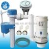 Water saver toilet flush system