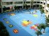 Outdoor kindergarten playground system