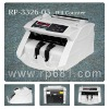 Currency bill counter and detector RP3326-03, high accuracy