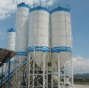 Bolted-type silos for concrete brick making machine