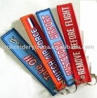 Embroidered key chain for promotional advertising products