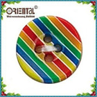 4hole leisure colorful resin shirt button