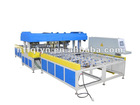 Automatic horizontal glass linear edge grinding machine four