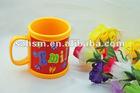 2012 new style 3D soft pvc rubber mug