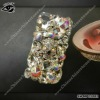 Hot sell fancy rhinestone cases with skull for iphone4 and iphone4s
