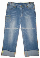 Girl's blue casual Jeans