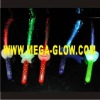 July 4 LED flashing fiber optic stick