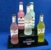 New Type LED Acrylic Bottle Lighted Base Bottle Base