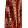 Grade A+ Cylinder Shape Natural Agate Loose Strand