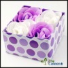 flower soap,hot sell,best price ,4pc/set FZ