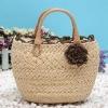 fashion straw tote bag