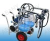 Dry Self-priming Pump Milking Machine (Double Buckets)