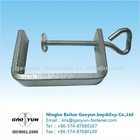 U stamping plate with eye bolt&washer