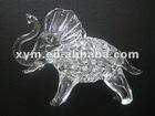 glass animals , small crystal glass animal