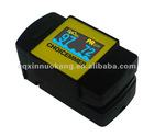 Fingertip oximeter with dual-color OLED display,PR.SP02