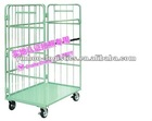 Foldable and Stackable Logistics Trolley for Workshop