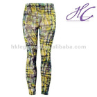 Perfect three-dimensional oil paintings style leggings
