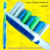 customized tongue cleaner toothbrush