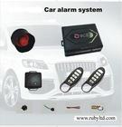One-way car alarm
