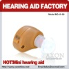 AXON HOT-SELLING Mini Hearing Aid with CE K-80