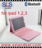 Ipad rubber bluetooth keyboard BK05