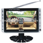 Ultra Broad-Angle Digital TFT LCD TV with USB and SD Card Port,Digital Photo Frame