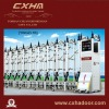 Industrial electric gate with remote control