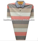 the elderly polo T-shirt with pattern