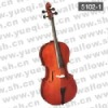 5102-1 Conservatory 4/4 Cello with rosewood fitting