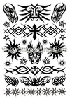 Good Quality Tattoo Sticker