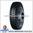 All steel Truck tyres 12.00R20