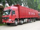 China HOWO 10x6 van cargo truck 336HP ,Euro 2
