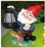 X'mas Santa claus solar light lamp / solar garden light lamp / outdoor solar light lamp