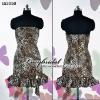 2011 New Fashion Leopard Grain Sexy Cocktail Dress Short ES3059