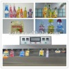 Automatic plastic pouch filling and sealing paking machine for liquid food