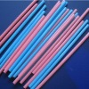Biodegradable colorful straight straw
