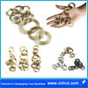 Free Styles Metal Iron Crinkled Wire Charm pendant scarf Jewelry DIY accessories 14st03