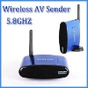 5.8Ghz Wireless AV Transmitter and Receiver With IR Extention