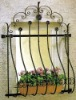 decorative iron window