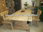 old elm wood big conference table