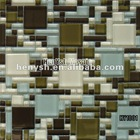 hot sale,modern style crystal mosaic tile,backsplash tiles 300x300mm--HY1001