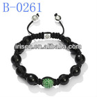 Latest DIY shamballa bracelet for Christmas gift