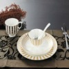 high grade hotel restaurent dinnerware porcelain set