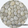 White cobble stone