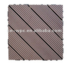 outdoor wpc decking tile