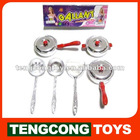 TC Cooking Play Set,Electroplate Kitchen Toys set