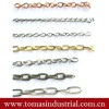 Custom design various sizes metal chains for bags