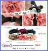 6colors fabric flower hair flower head flower with banana clip made in China