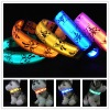 free shipping LED Dog Collar Nylon LED Dog Collar Flashing LED Pet Collar