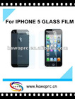 MagicToughened Glass Screen Protective Film Glass Film for Iphone5